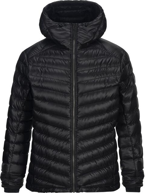Peak Performance Ice Down Hooded Jacket Men Black